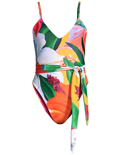 MARA HOFFMAN Gamela One-Piece - Multi