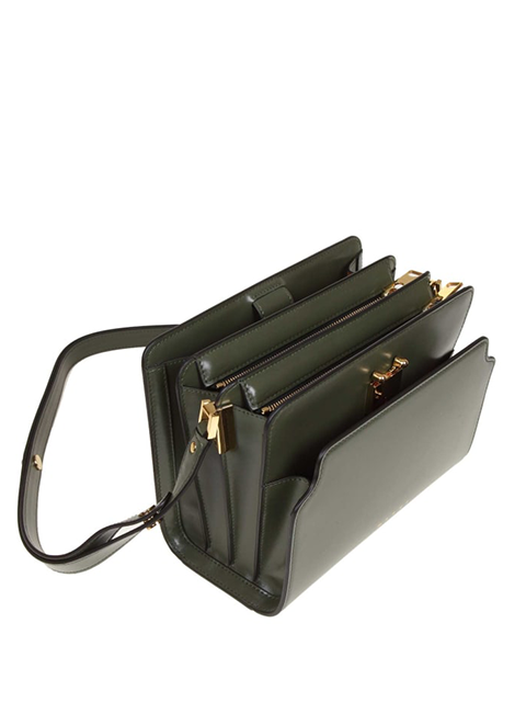 MARNI Trunk Reverse Shoulder Bag in Green