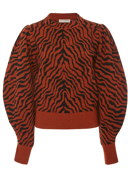 ULLA JOHNSON Massey Pullover - Rust