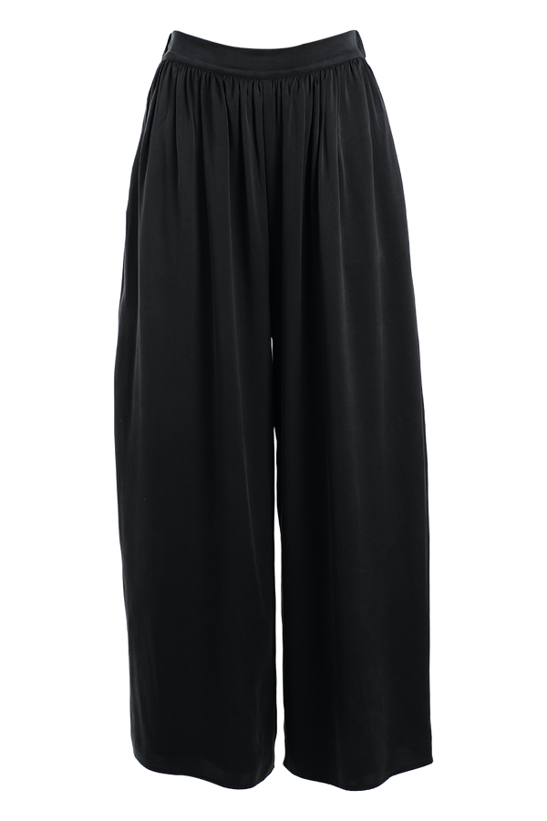 TOVE Nola Silk Wide-Leg Pants