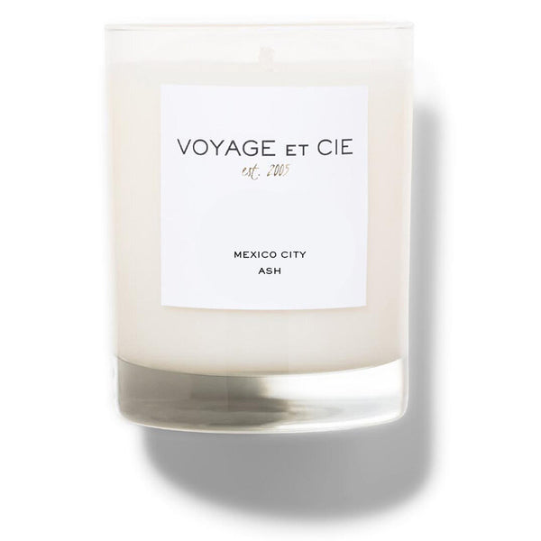 "VOYAGE ET CIE 4"" Highball Candle - Mexico City Ash"