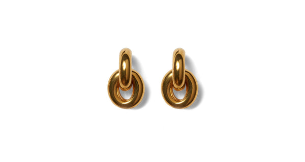 LIZZIE FORTUNATO Mini Link Earrings