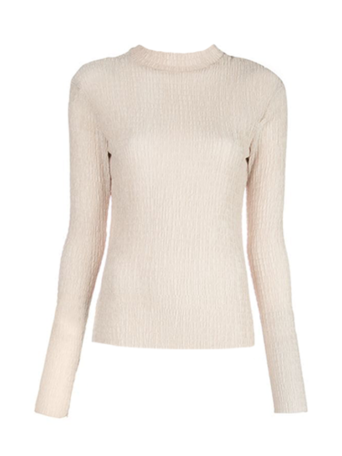 NOMIA Long Sleeve Knit Top