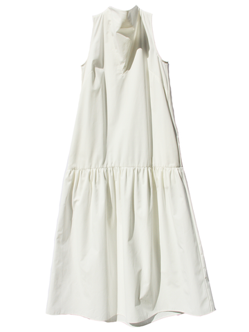NOMIA White Cowl Neck Dress