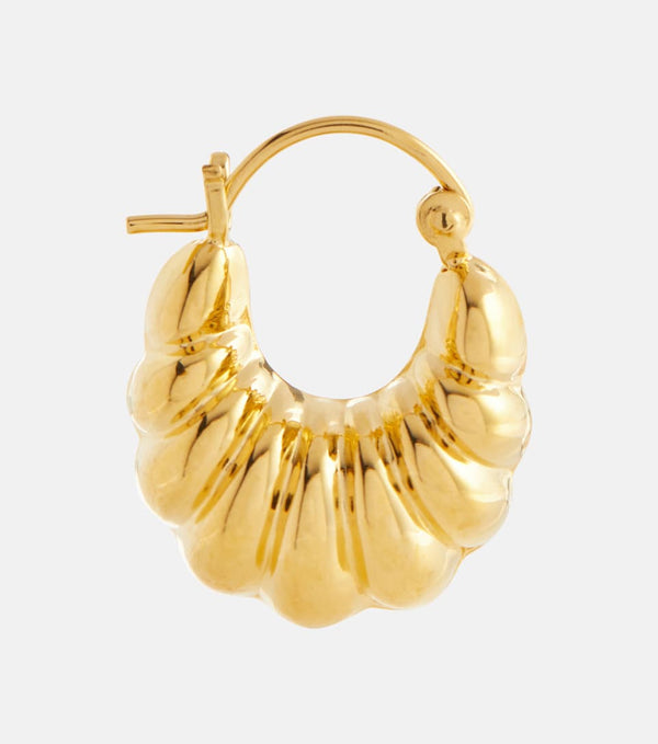 SOPHIE BUHAI Gold Shell Hoop Earrings