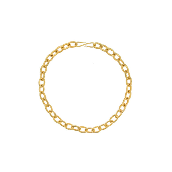 SYLVIA TOLEDANO Atlantis Gold Link Chain Necklace