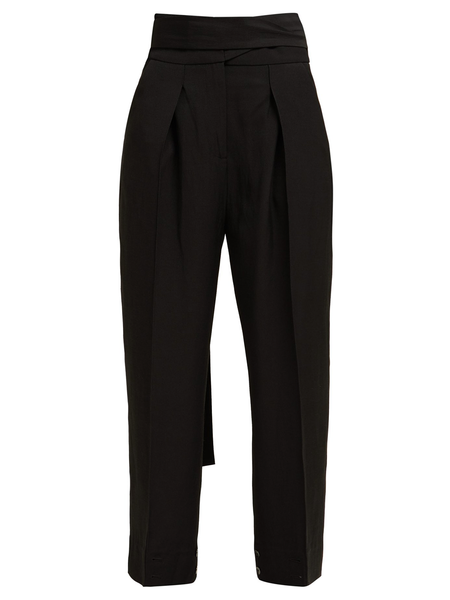 PETAR PETROV Hallet High-Waist Tailored Trousers