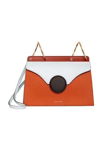 Danse Lente Mini Phoebe Sky Ginger Crossbody Bag