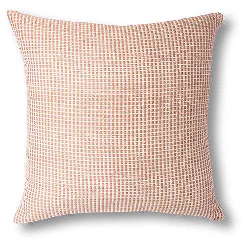BOLE ROAD Textile Aman Pillow in Dusty Rose