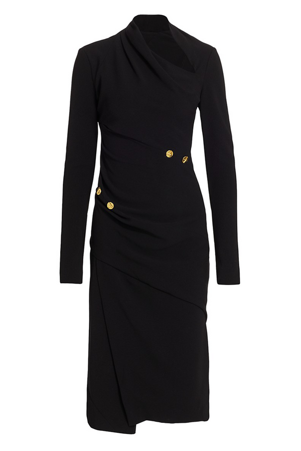 PROENZA SCHOULER Matte Crepe Long Sleeve Dress