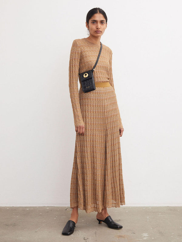 by MALENE BIRGER Donax Knit Maxi Skirt