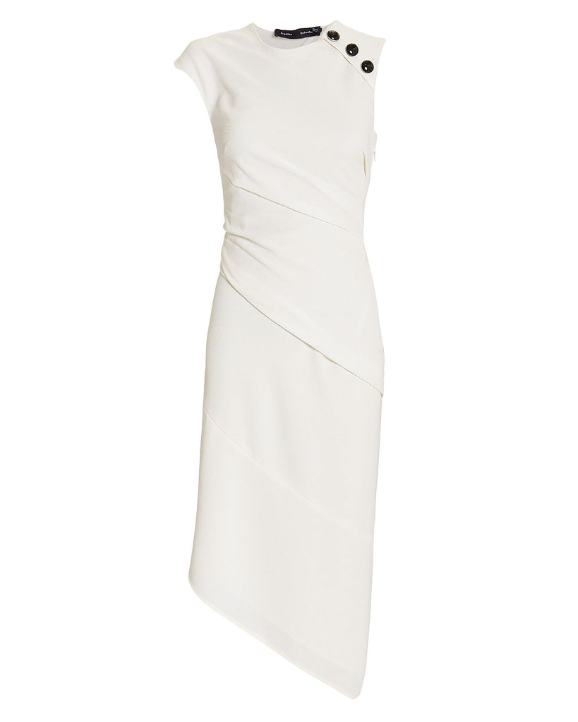 Proenza Schouler Sl Spiral Dress Textured Crepe