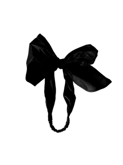 RACHEL COMEY Bow Headband / Black
