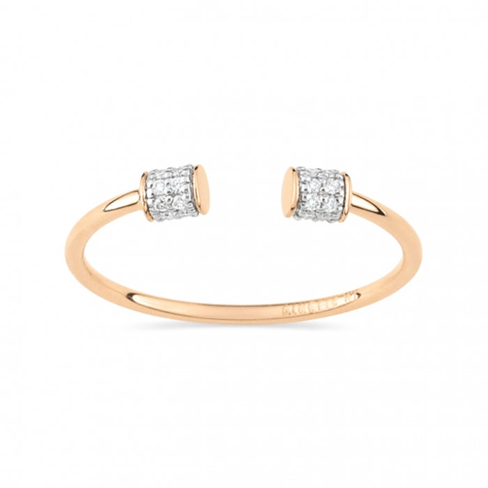 GINETTE NY Diamond Choker Ring 18K Rose Gold