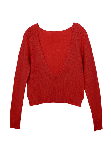 Ryan Roche V-Neck Sweater