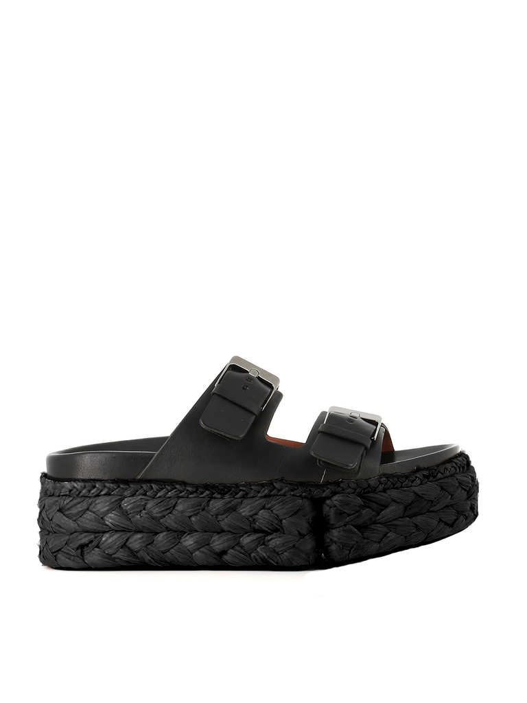 CLERGERIE Abby Slide - Black
