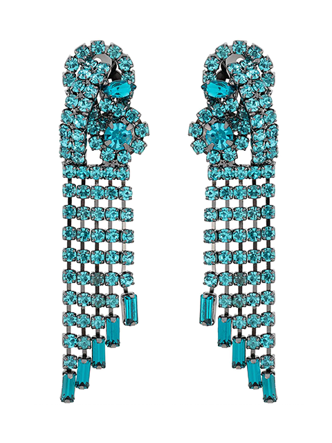 Rachel Comey Rerun Earrings - Aquamarine