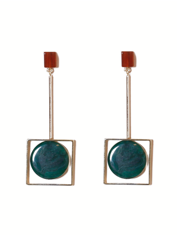 RACHEL COMEY Hans Juniper Green Earrings
