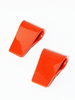 Rachel Comey SLALOM Red Earrings