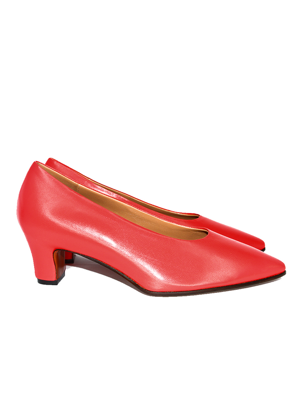 MARNI Pump Shoe - Red