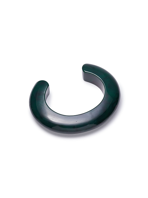 LIZZIE FORTUNATO Ridge Cuff in Malachite