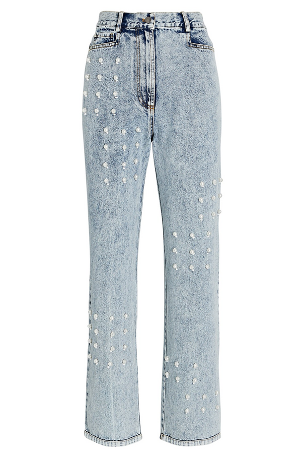 SEA Betty Acid Wash Pearl Jeans
