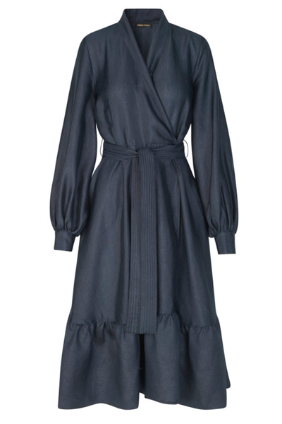 STINE GOYA Niki Vneck Wrap Dress