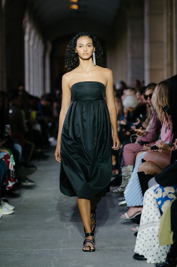 CÉDRIC CHARLIER Strapless Dress