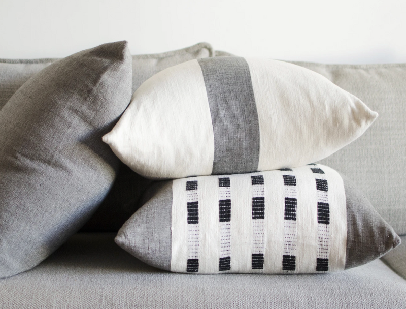 BOLE ROAD Zelalem Pillow - Slate