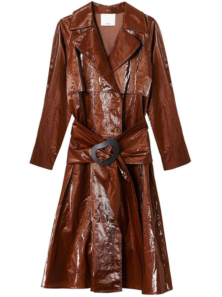 TIBI  Tech Trench with Removable Belt