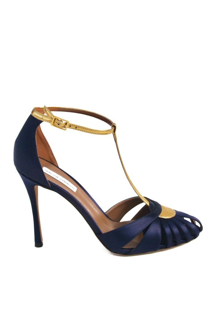 TABITHA SIMMONS Chelsea Closed Ankle Strap Sandal