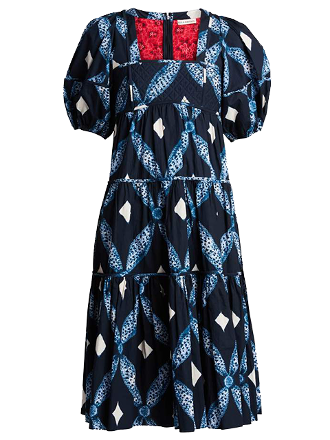 ULLA JOHNSON Nora Dress - Indigo