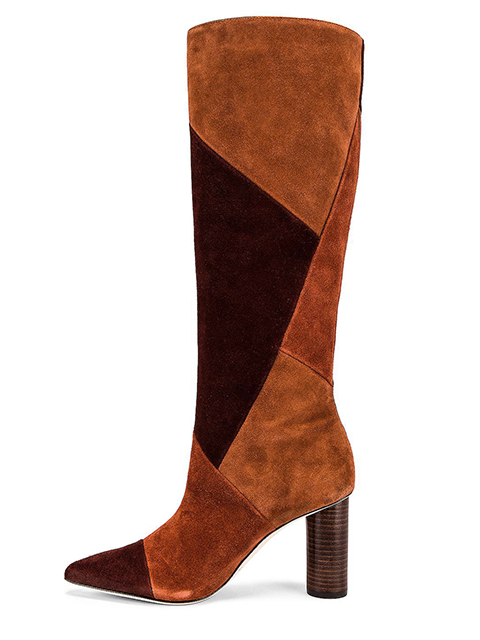 ULLA JOHNSON Jerri Boot Suede Combo