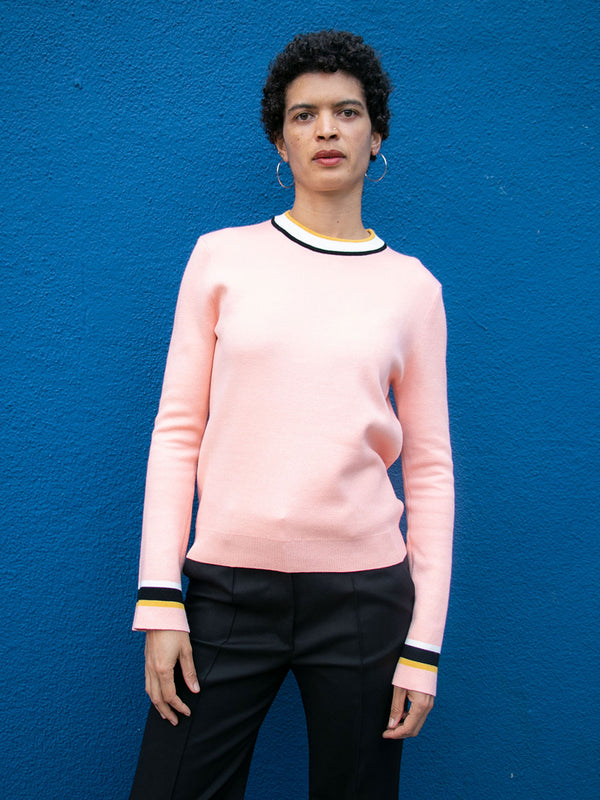 VEDA Karma Cotton Sweatshirt - Pink