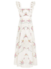 ZIMMERMANN Allia Cross Stitch Long Dress