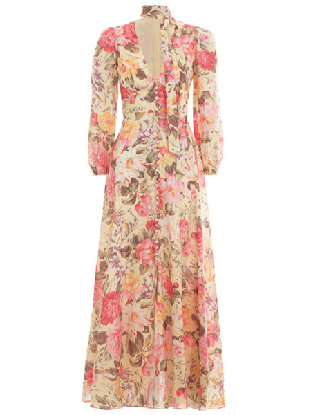 ZIMMERMANN Honour Plunge Dress