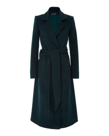 Brandon Maxwell CASH WOOL NOTCHED LAPEL TOPCOAT