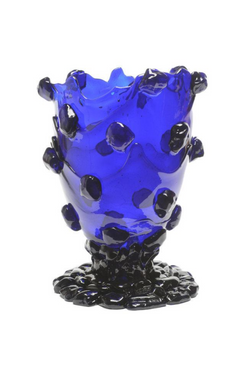 CORSI Large Nugget Vase in Blue