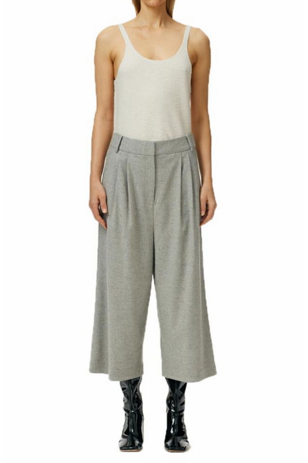 TIBI Lola Wool Tweed Stella Culotte