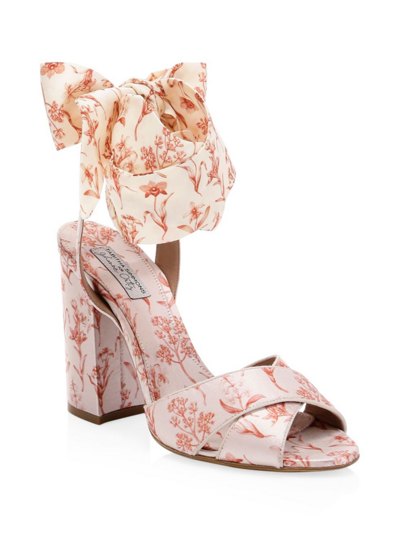 TABITHA SIMMONS Connie Wrap Tie Heel