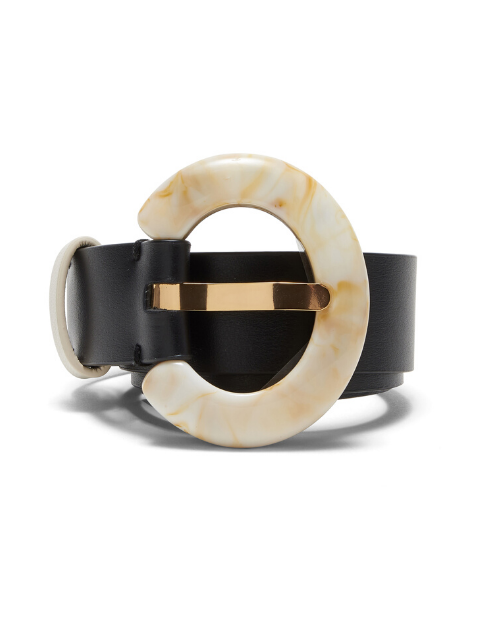 LIZZIE FORTUNATO Sofia Belt - Black/Dune