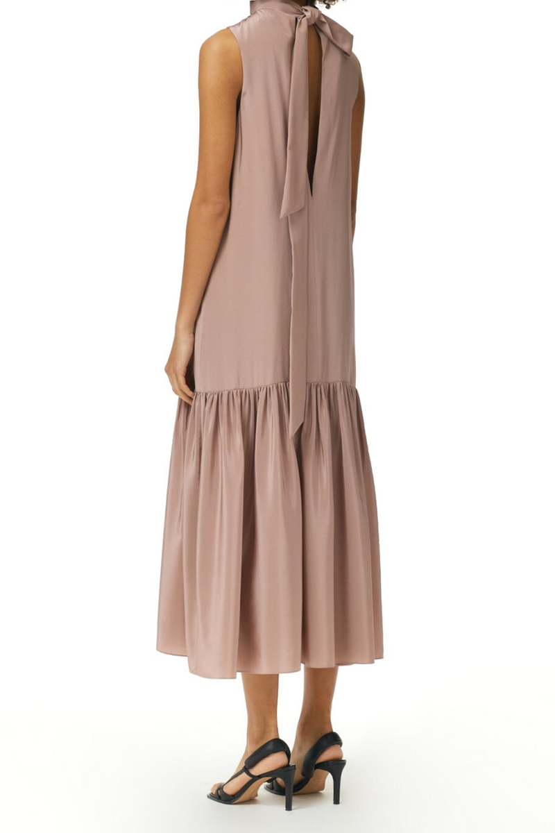 TIBI Eco Silk Dropwaist Dress