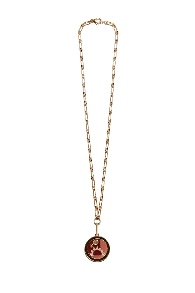 Lizzie Fortunato Fortune Necklace w/ Warm Sunrise