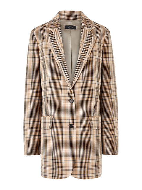 JOSEPH Mayfield-Mandras Wool Blazer