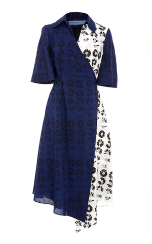 JONATHAN COHEN The Heloise Wrap Dress Love Me Love Me Not