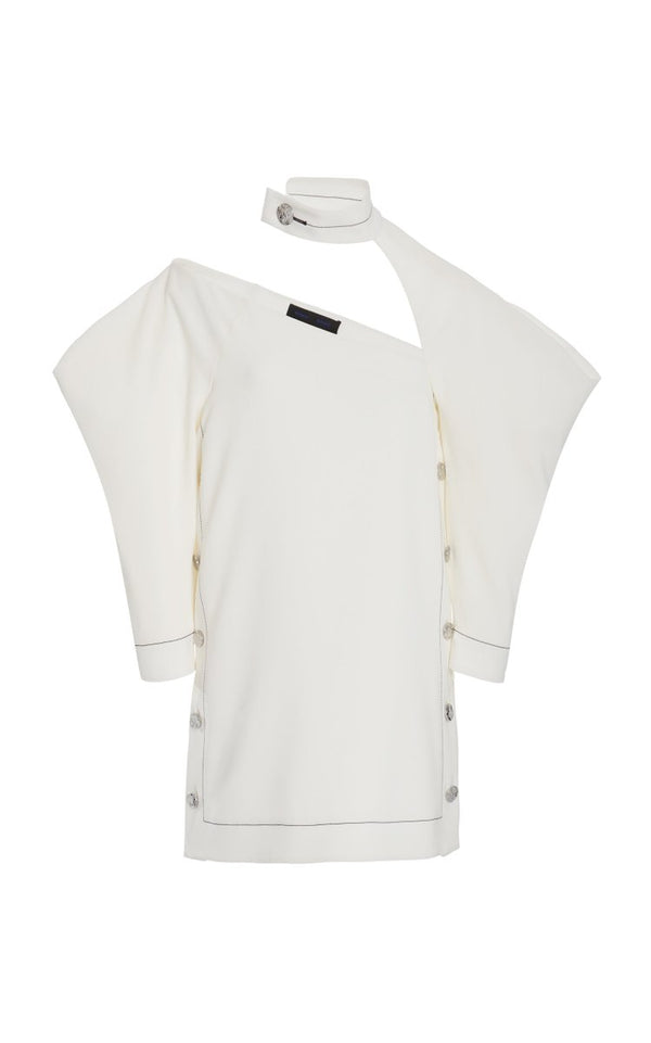 PROENZA SCHOULER Crepe Cut-out Top