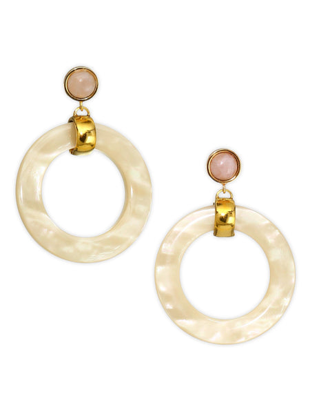 Lizzie Fortunato Sun-Bleached Hoops