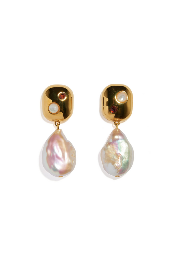 LIZZIE FORTUNATO Mod Reflection Earrings