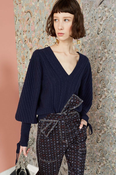 ULLA JOHNSON Brisa Pullover