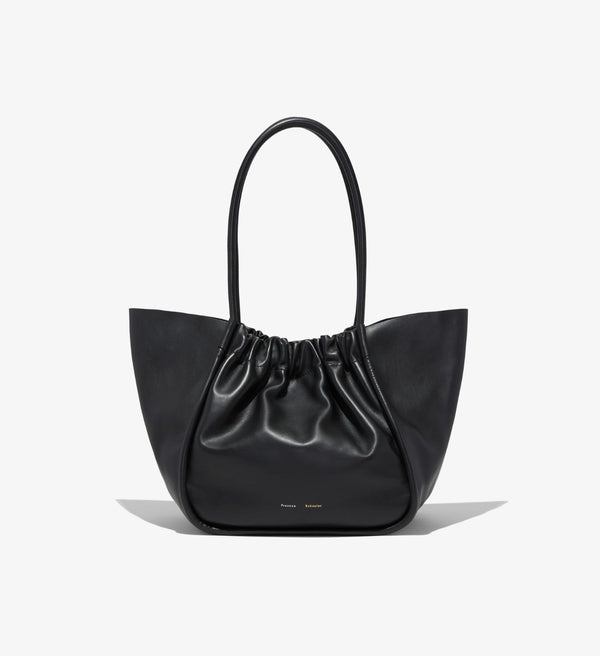 PROENZA SCHOULER Large Ruched Tote / Black